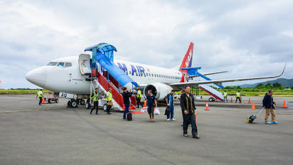 PK-NAQ - NAM Air Boeing 737-500