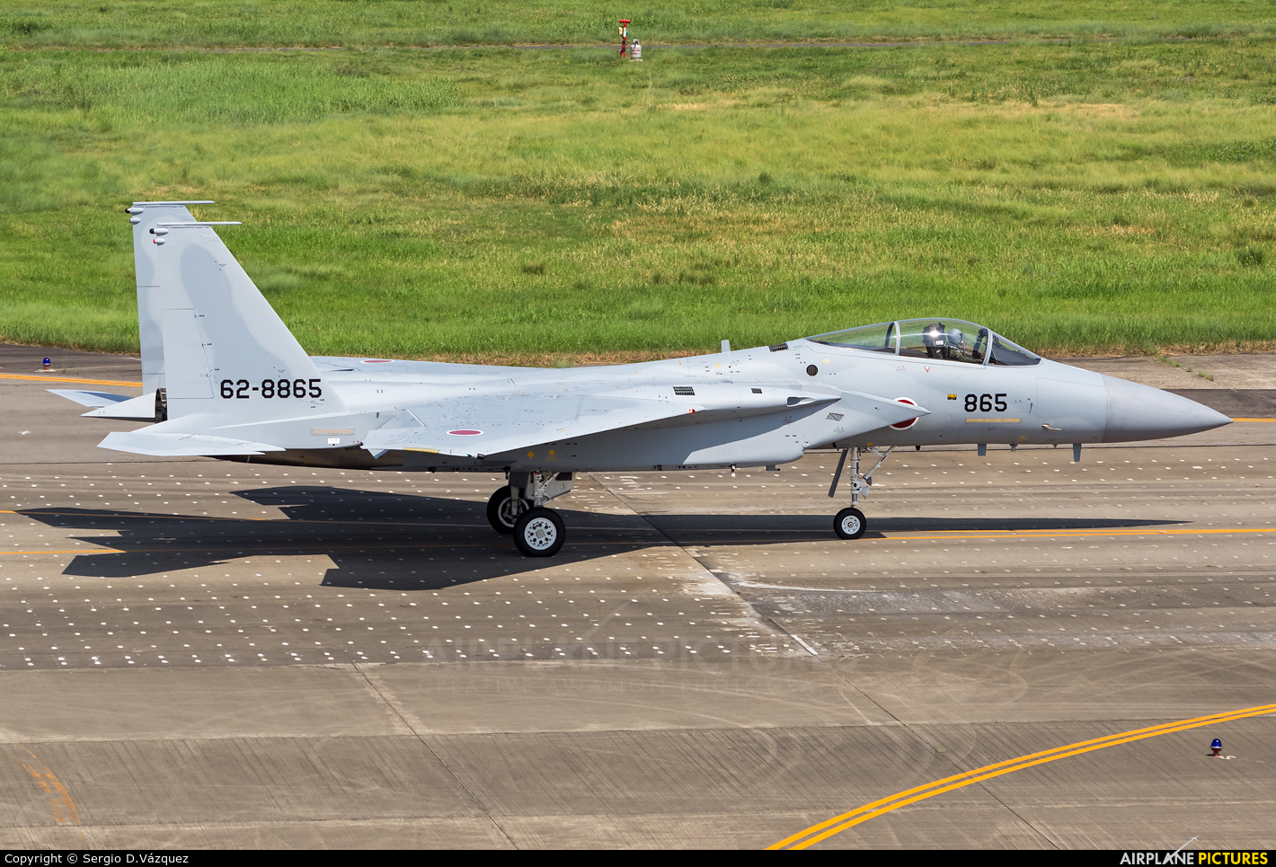 Japan - Air Self Defence Force 62-8865 aircraft at Nagoya - Komaki AB