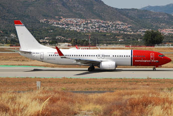 LN-NGX - Norwegian Air Shuttle Boeing 737-800