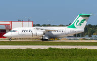 Rare visit of Mahan Air BAe146 to Krasnodar title=