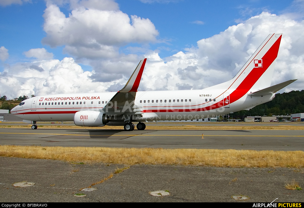 Poland - Government N784BJ aircraft at Seattle - Boeing Field / King County Intl