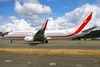 N784BJ - Poland - Government Boeing 737-800 BBJ