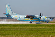 05 YELLOW - Ukraine - Air Force Antonov An-26 (all models) aircraft