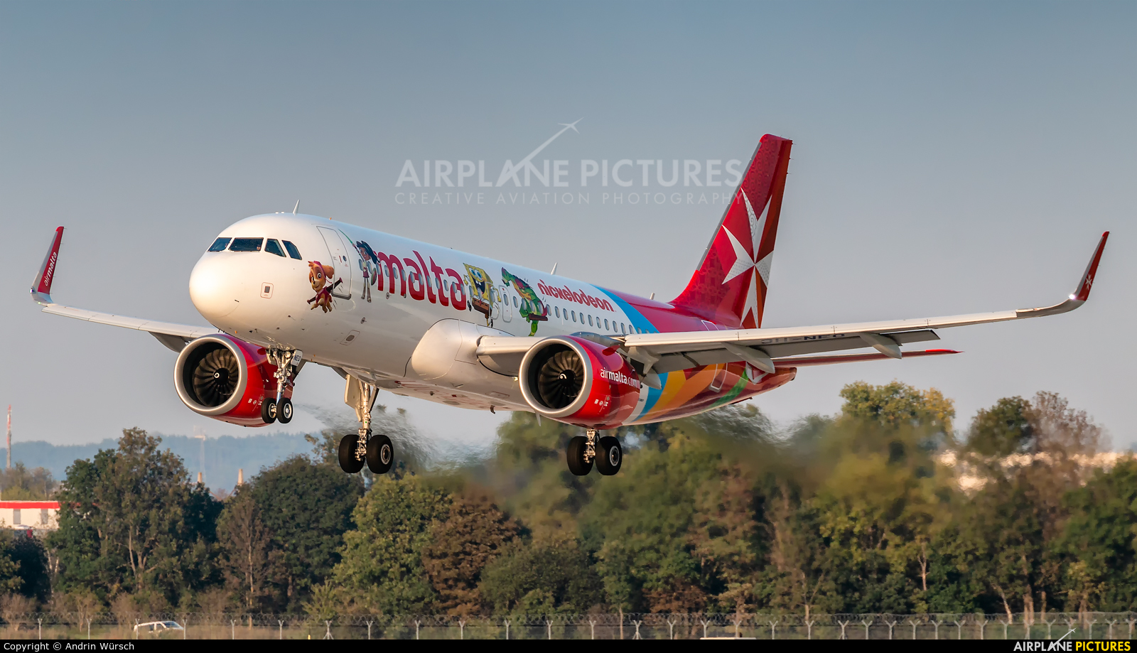 Air Malta 9H-NEO aircraft at Munich
