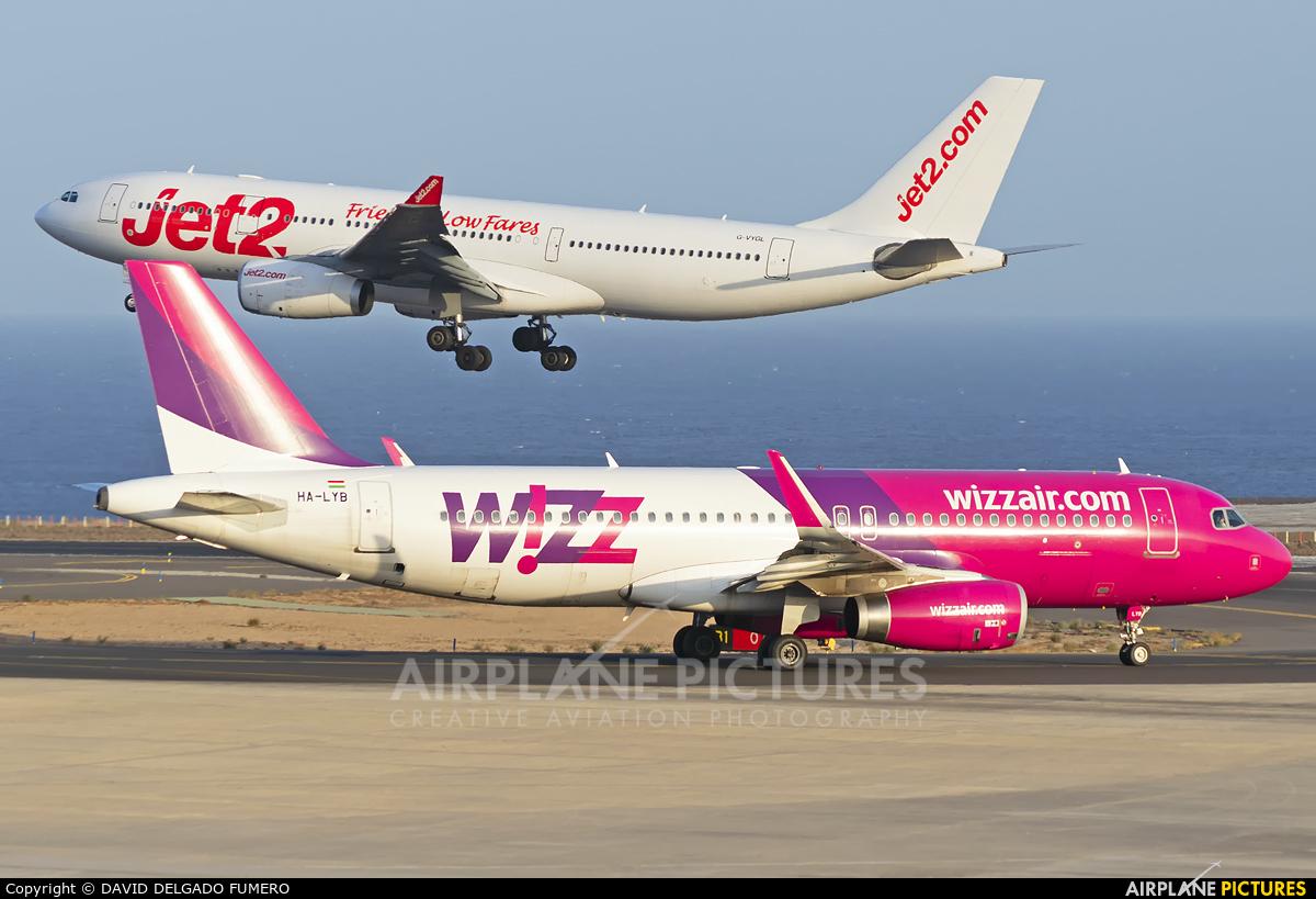 Wizz Air HA-LYB aircraft at Tenerife Sur - Reina Sofia