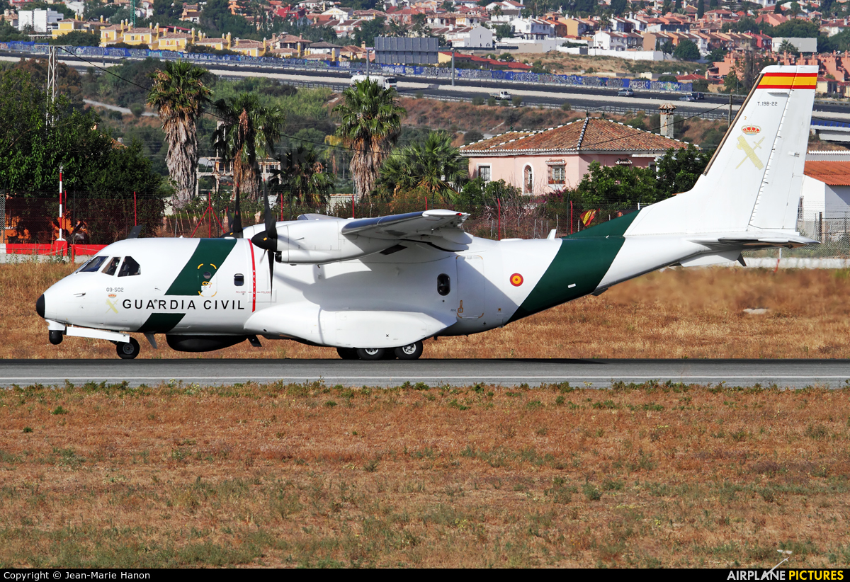 Spain - Guardia Civil T.19B-22 aircraft at Málaga
