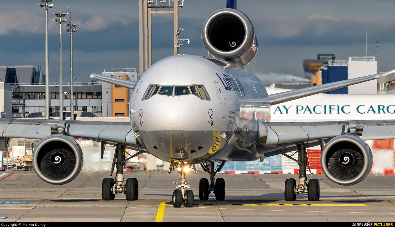 Lufthansa Cargo D-ALCF aircraft at Frankfurt