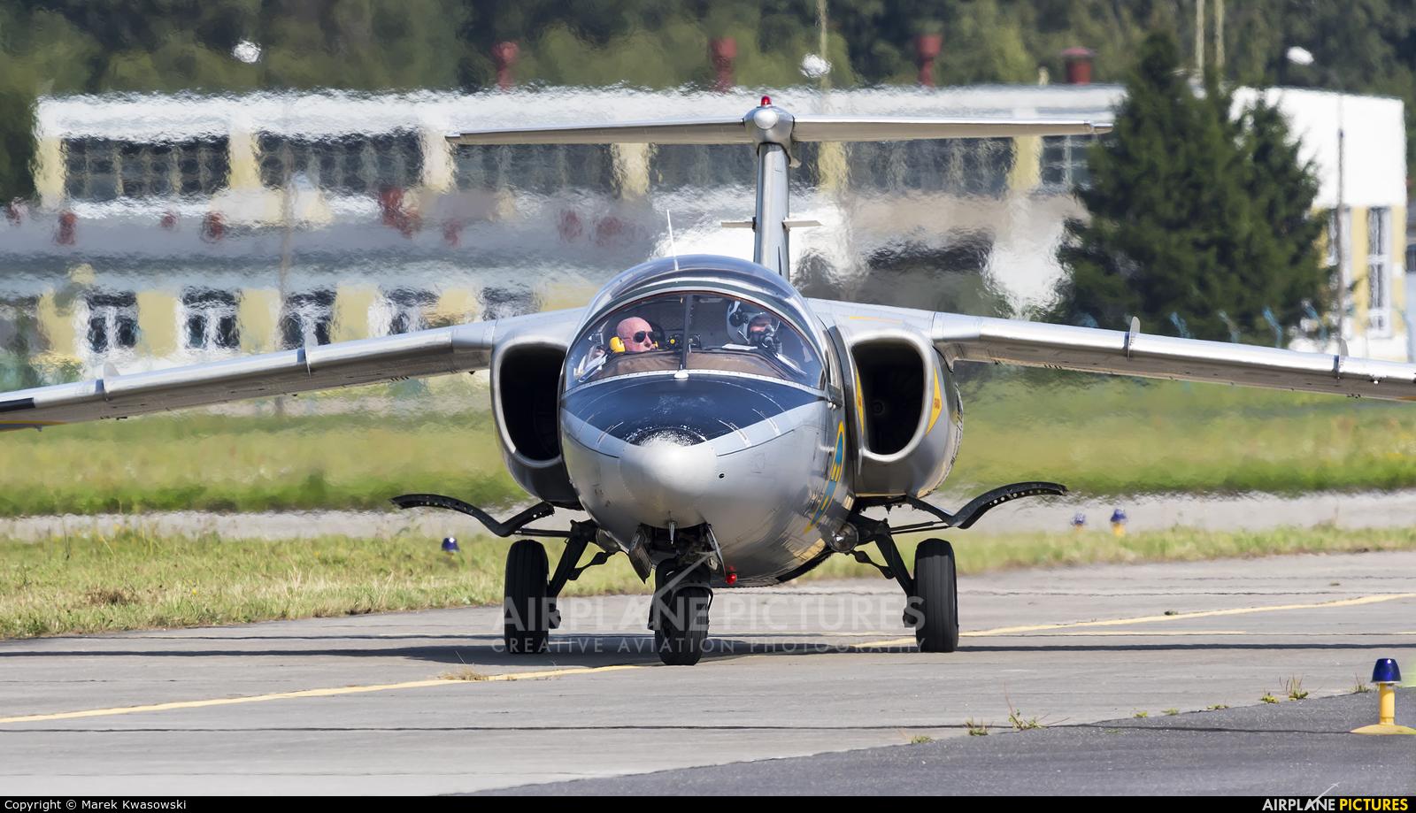 Swedish Air Force Historic Flight SE-DXG aircraft at Gdynia- Babie Doły (Oksywie)