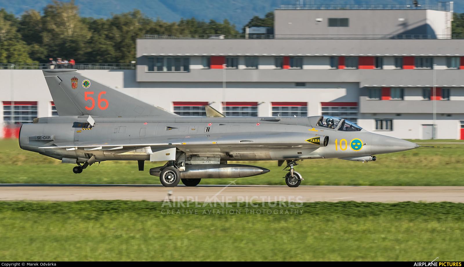Swedish Air Force Historic Flight SE-DXR aircraft at Ostrava Mošnov