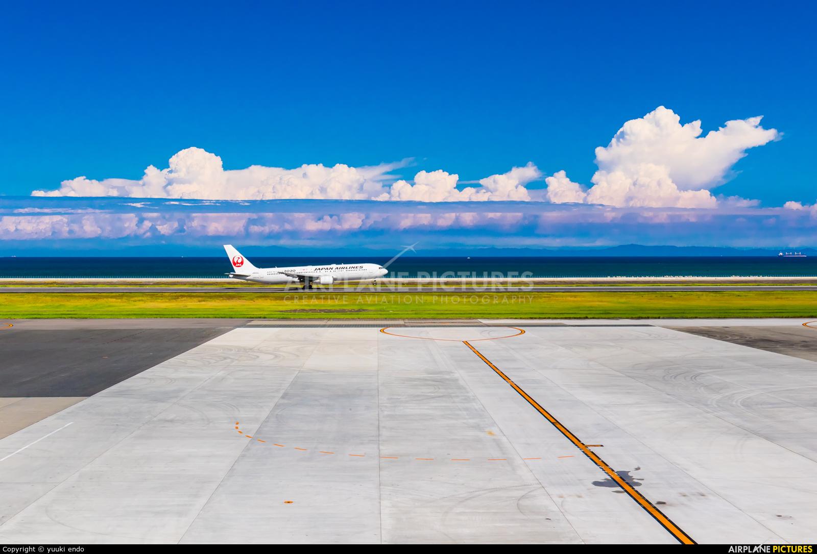 JAL - Japan Airlines JA603J aircraft at Oita