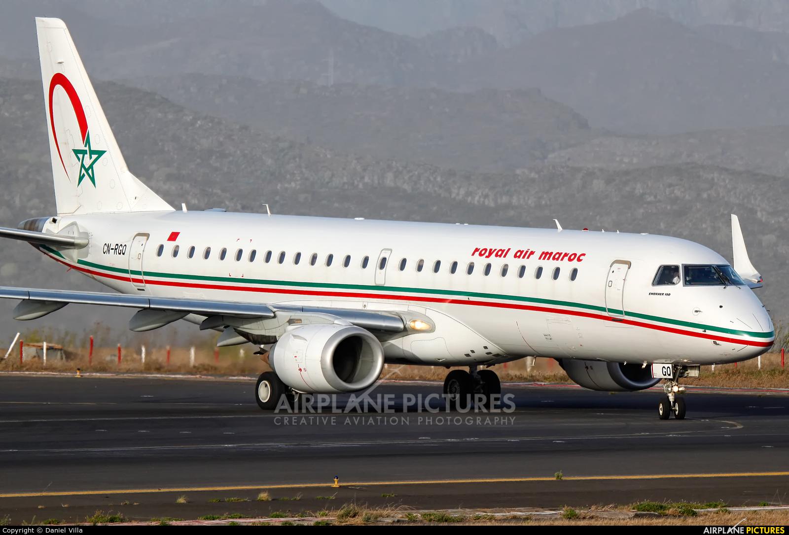 Royal Air Maroc CN-RGQ aircraft at Tenerife Norte - Los Rodeos