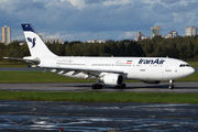 Rare visit of Iran Air A300 to St. Petersburg title=