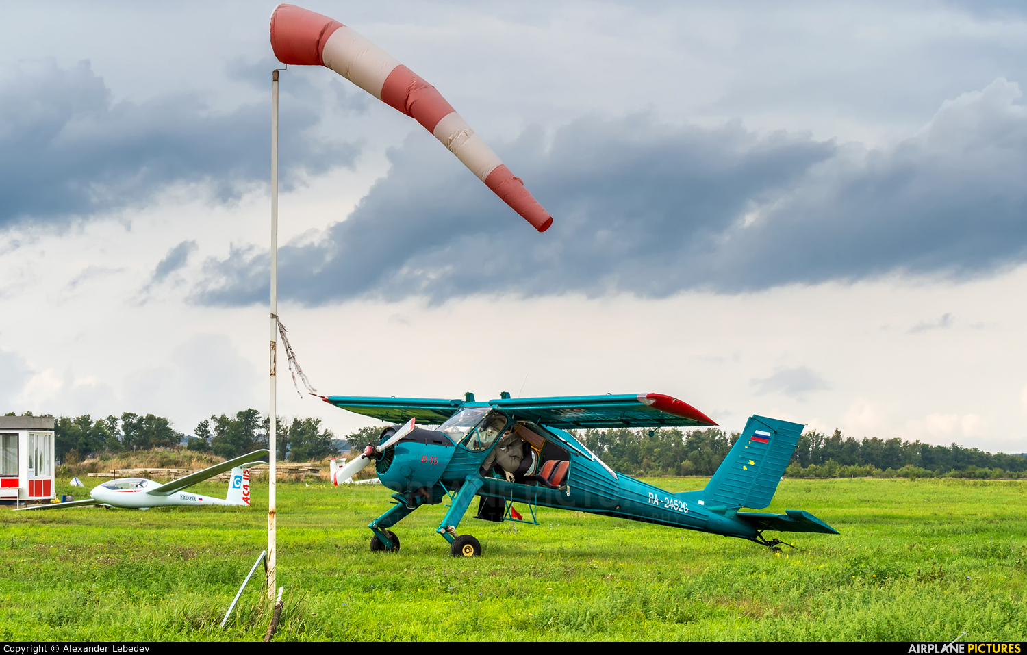 Private RA-2452G aircraft at Off Airport - Russia