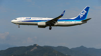 JA87AN - ANA - All Nippon Airways Boeing 737-800