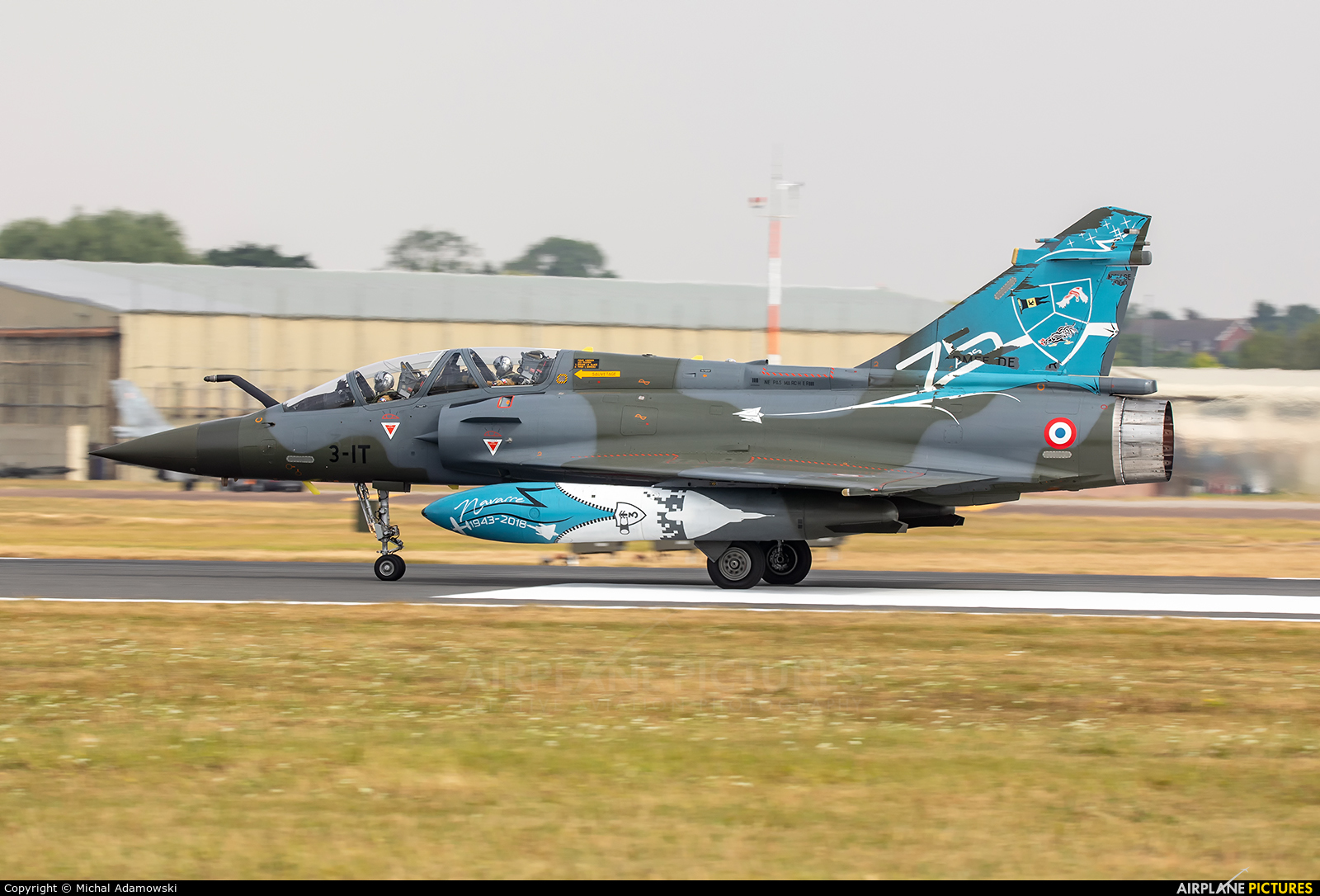 France - Air Force 3-IT aircraft at Fairford
