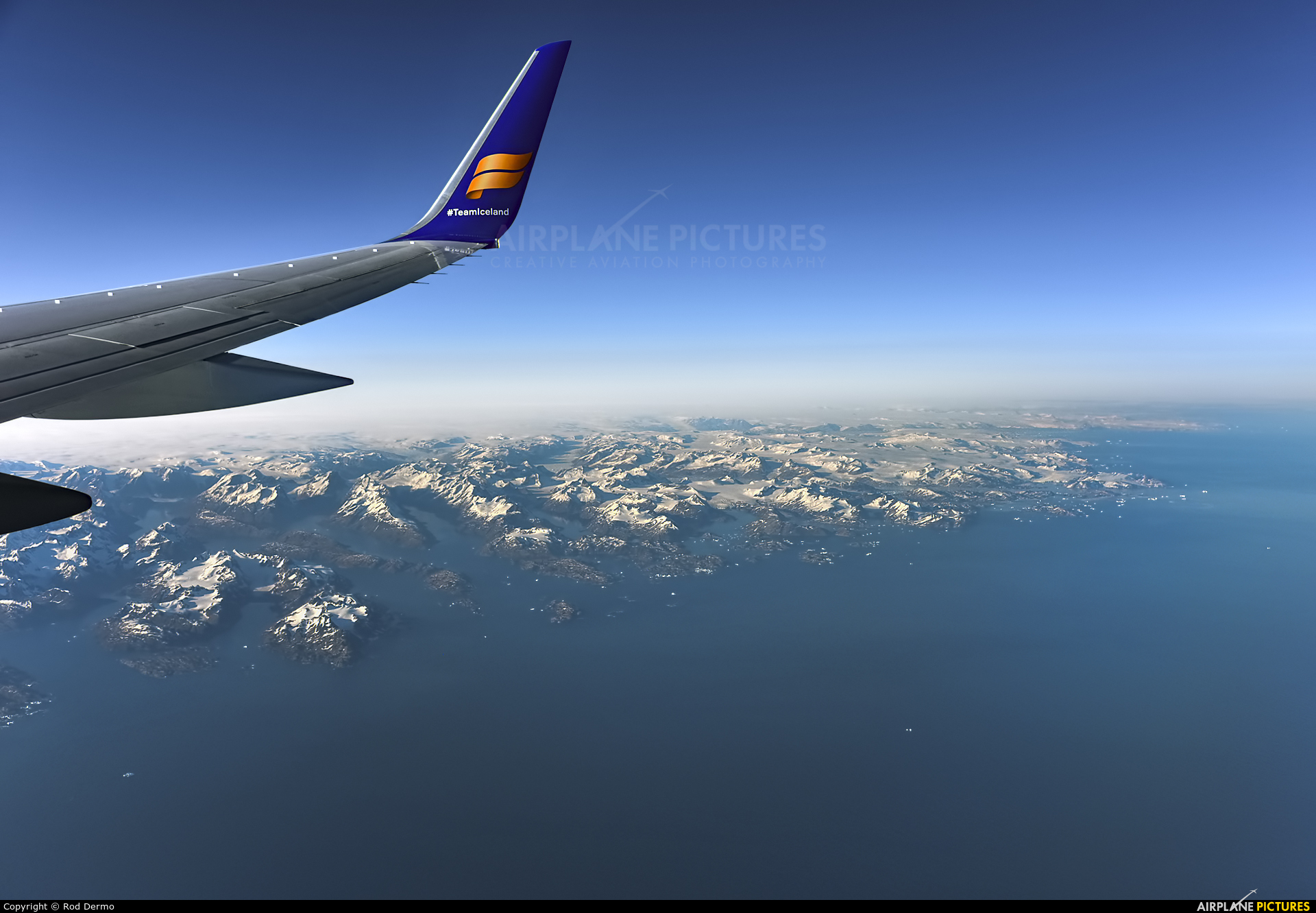 Icelandair TF-ISX aircraft at In Flight - Greenland