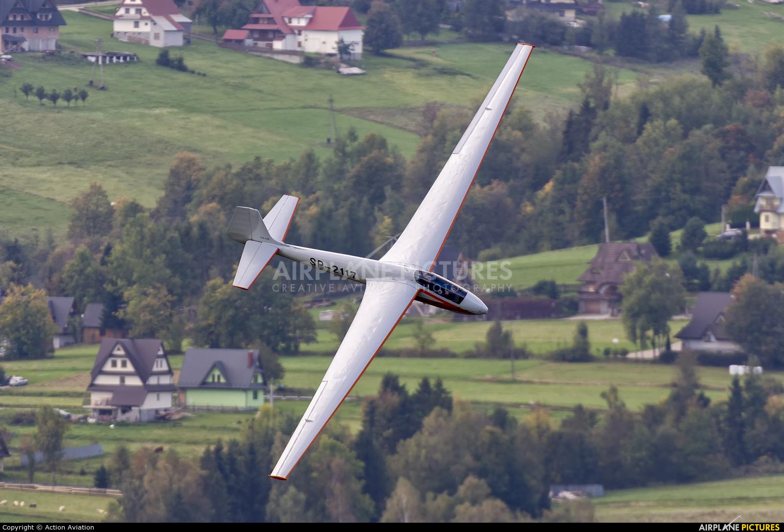 Aeroklub Nowy Targ SP-2117 aircraft at Off Airport - Poland