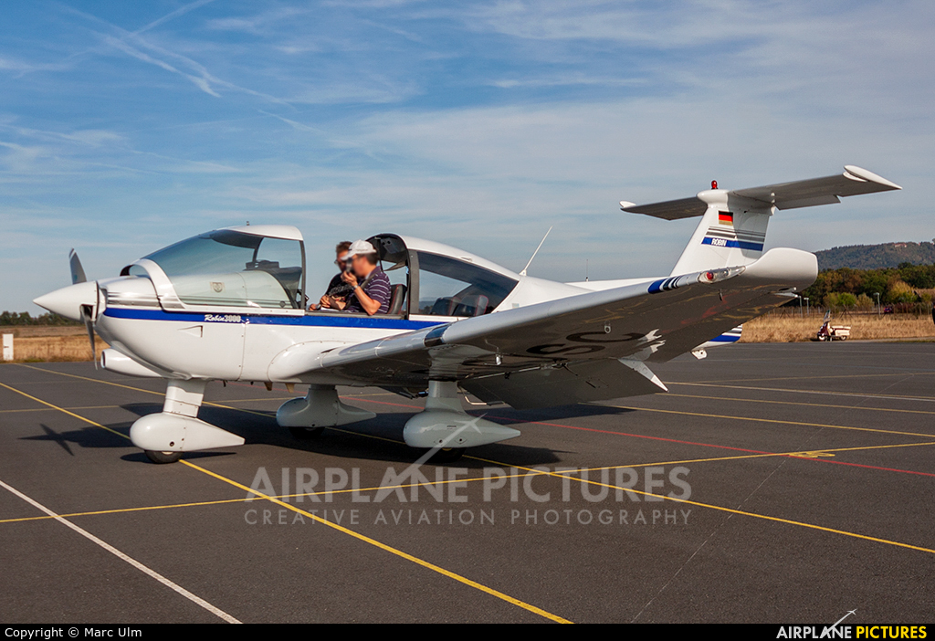 Private D-EJSC aircraft at Kitzingen