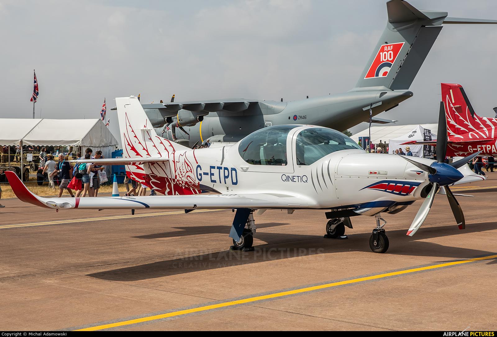 QinetiQ G-ETPD aircraft at Fairford