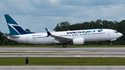C-GRAX - WestJet Airlines Boeing 737-8 MAX