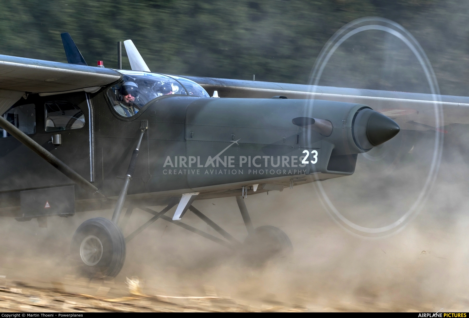 Switzerland - Air Force V-623 aircraft at Off Airport - Switzerland