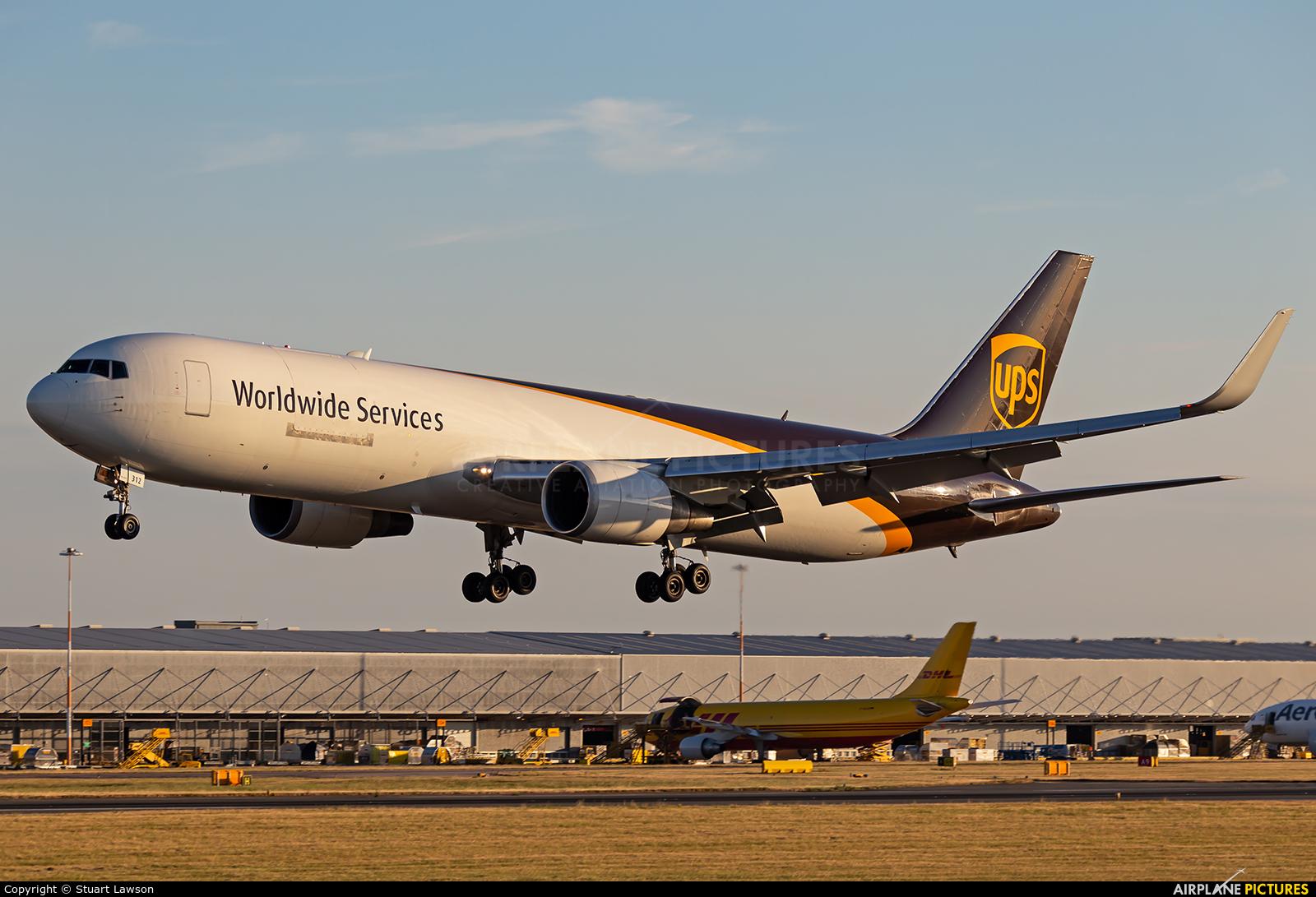 UPS - United Parcel Service N312UP aircraft at East Midlands