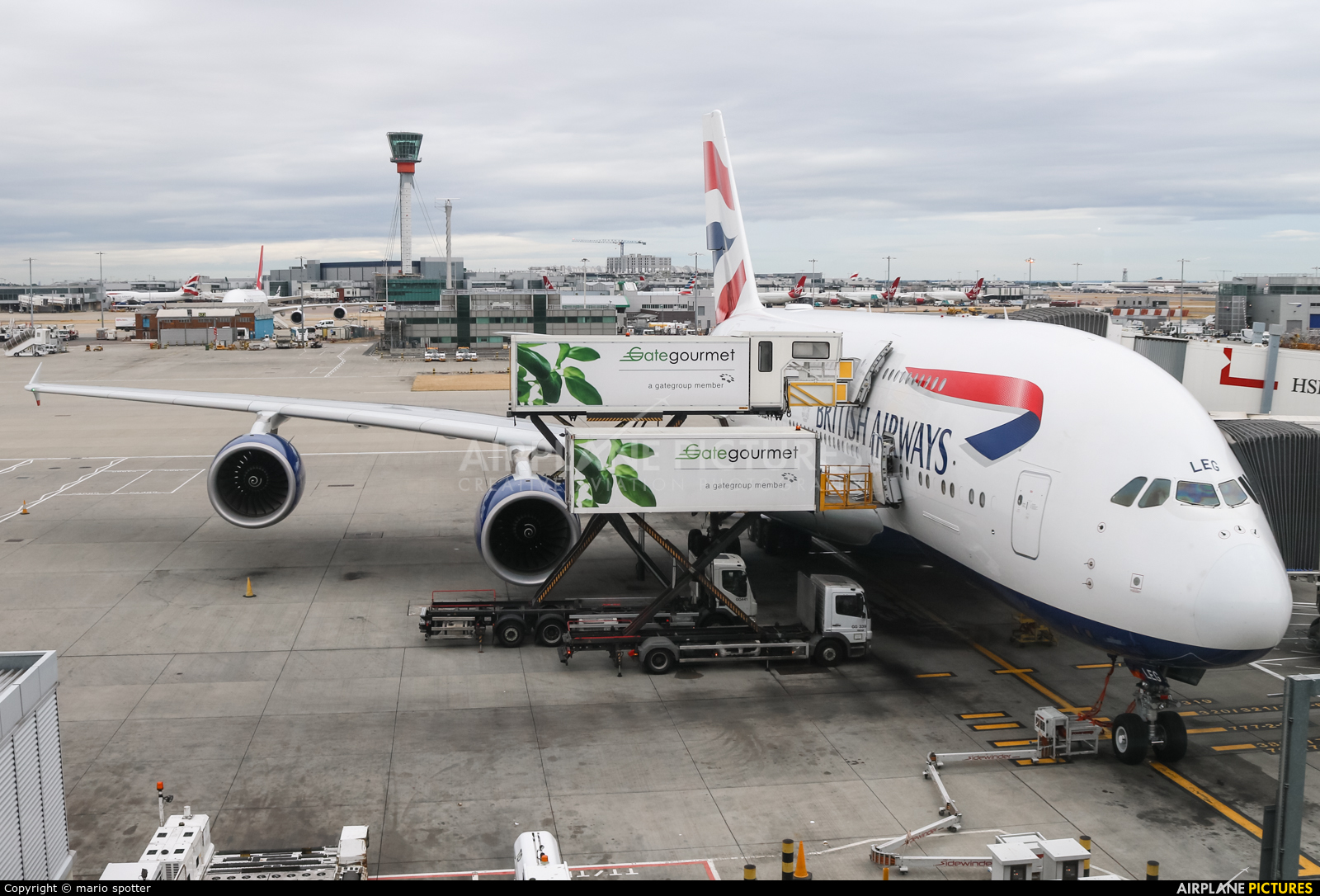 British Airways G-XLEG aircraft at London - Heathrow