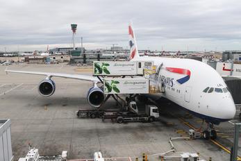 G-XLEG - British Airways Airbus A380