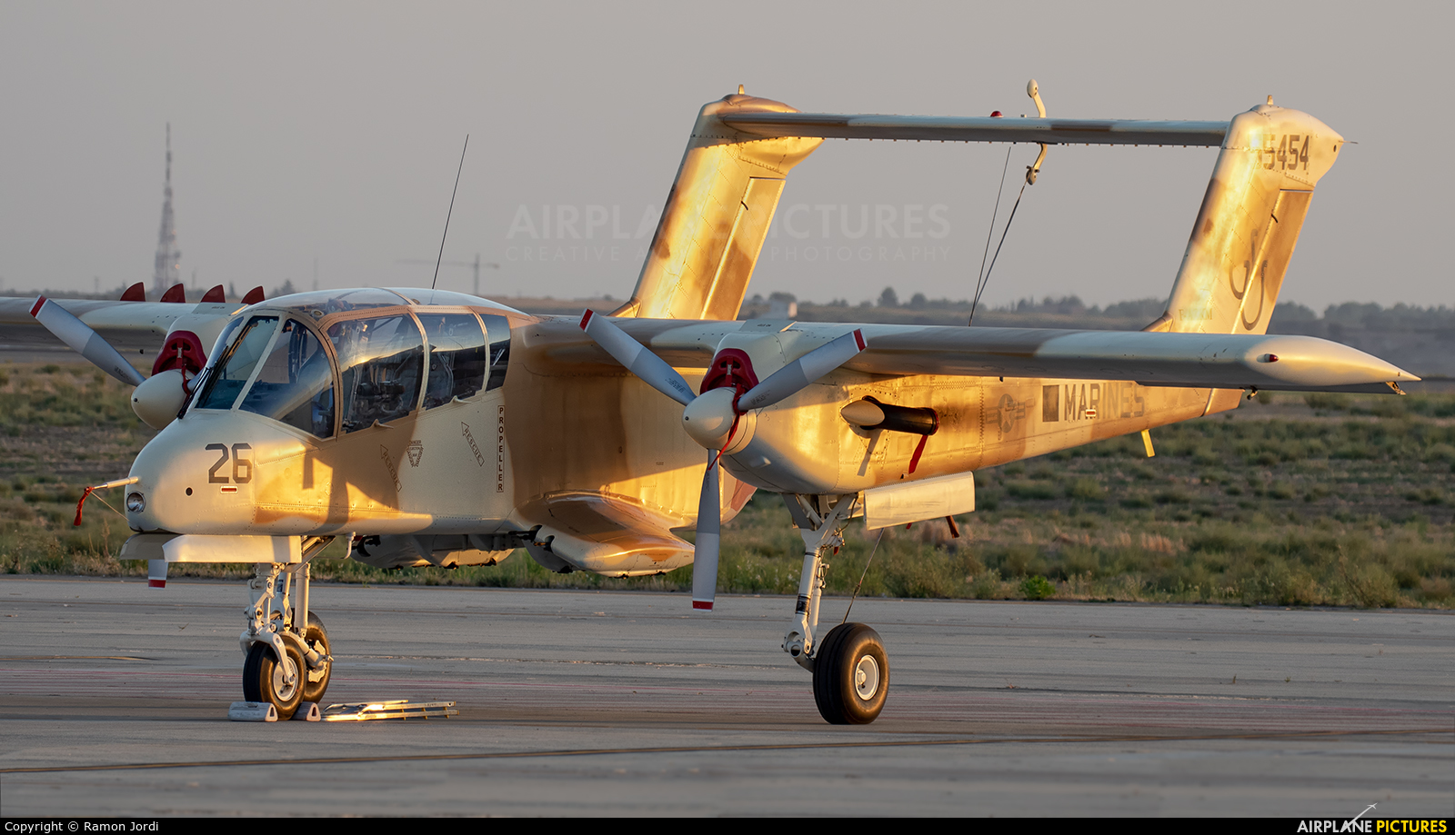 Private F-AZKM aircraft at Lleida - Alguaire