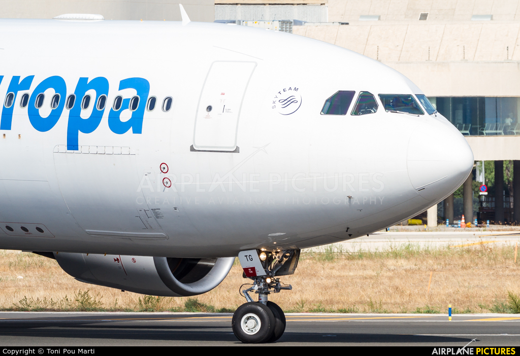 Air Europa EC-KTG aircraft at Palma de Mallorca