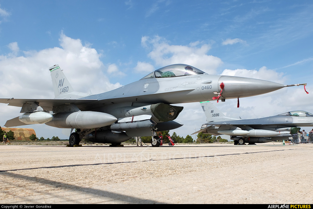 88-0460 - USA - Air Force General Dynamics F-16C Fighting