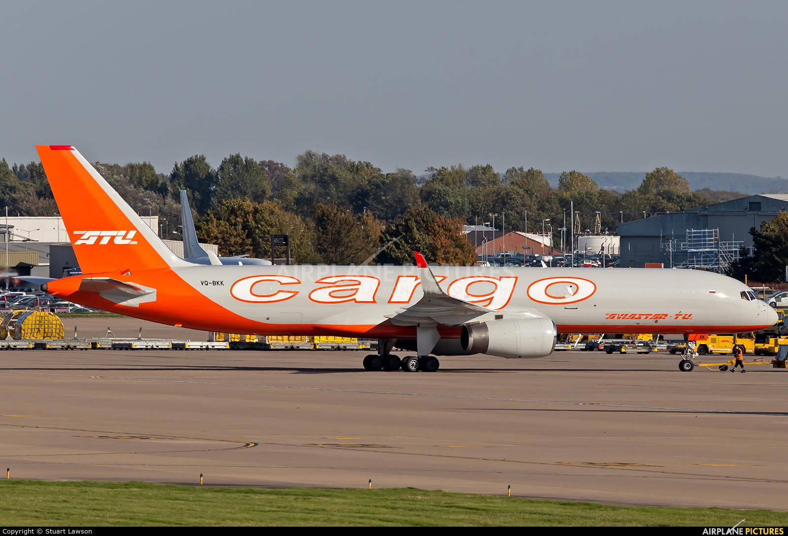 Aviastar-Tu VQ-BKK aircraft at East Midlands