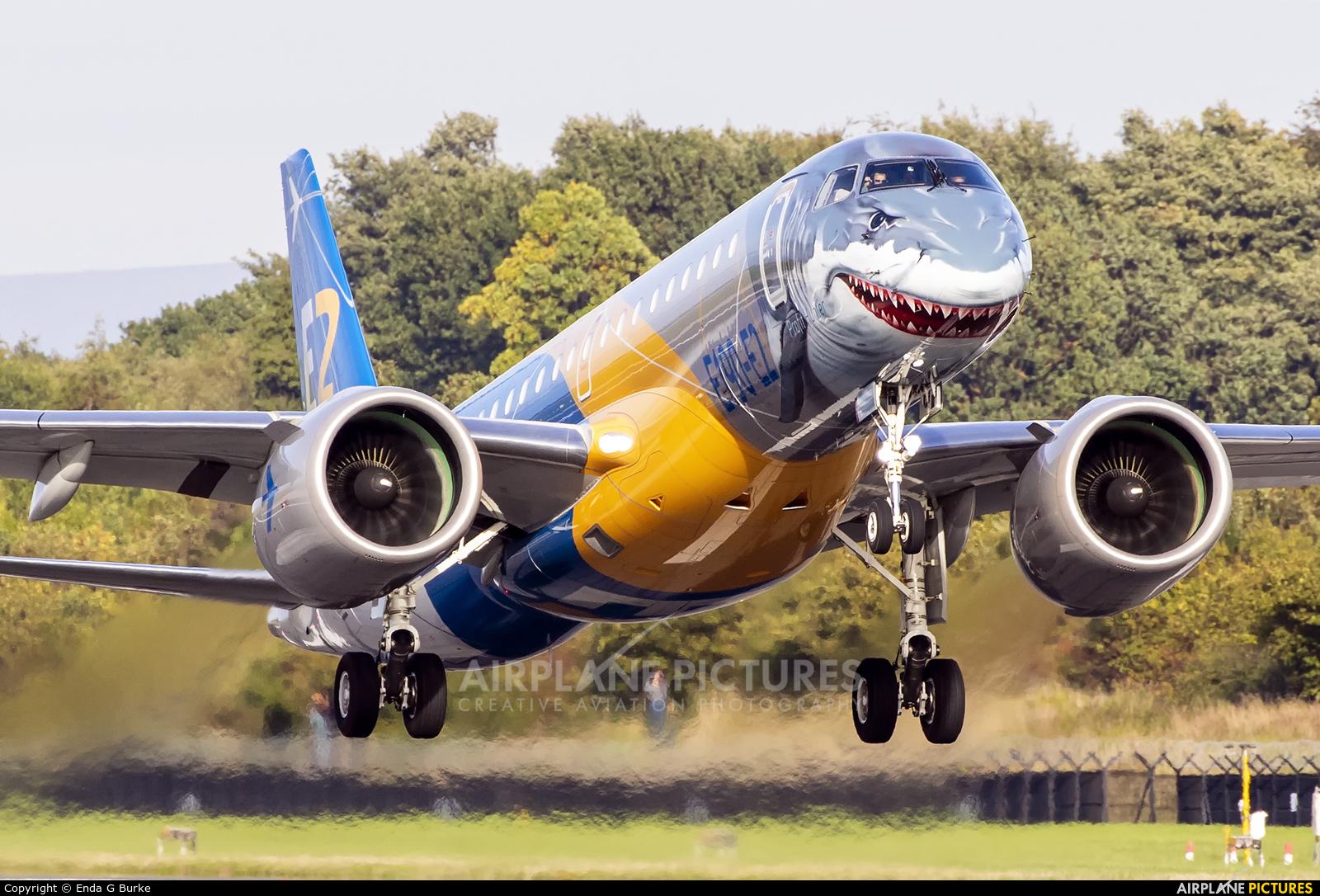 Embraer PR-ZGQ aircraft at Manchester