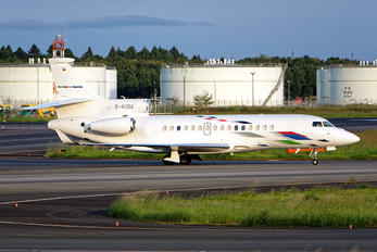 D-AGBA - Volkswagen Air Services Dassault Falcon 8X