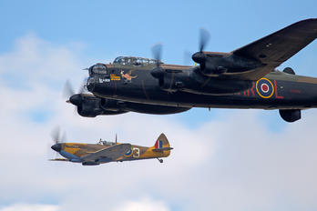 "PA474 - Royal Air Force ""Battle of Britain Memorial Flight"" Avro 683 Lancaster B. I"