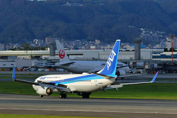 JA64AN - ANA - All Nippon Airways - Airport Overview - Runway, Taxiway