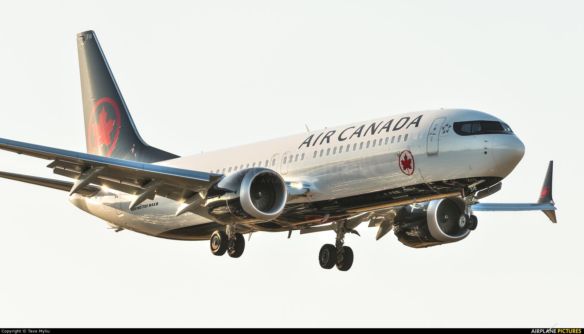 Air Canada C-FSNU aircraft at London - Heathrow