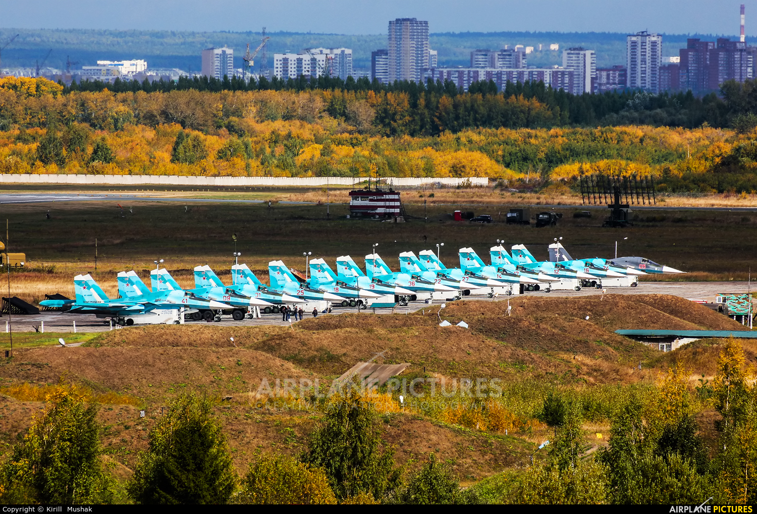 Russia - Air Force RF-95855 aircraft at Undisclosed Location