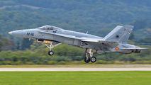 C.15-57 - Spain - Air Force McDonnell Douglas EF-18A Hornet aircraft