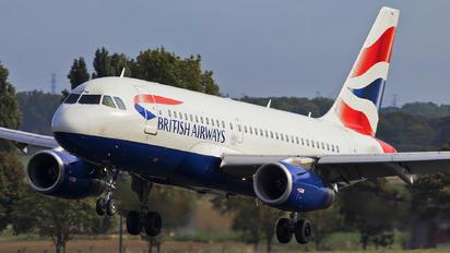 G-EUPM - British Airways Airbus A319