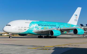 9H-MIP - Hi Fly Airbus A380