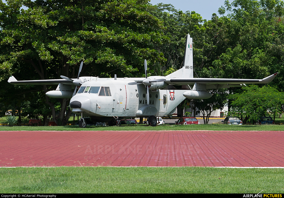 Mexico - Navy ANX-113 aircraft at Off Airport - Mexico