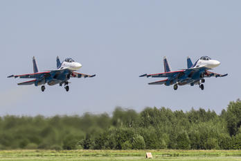 "RF-81722 - Russia - Air Force ""Russian Knights"" Sukhoi Su-30SM"