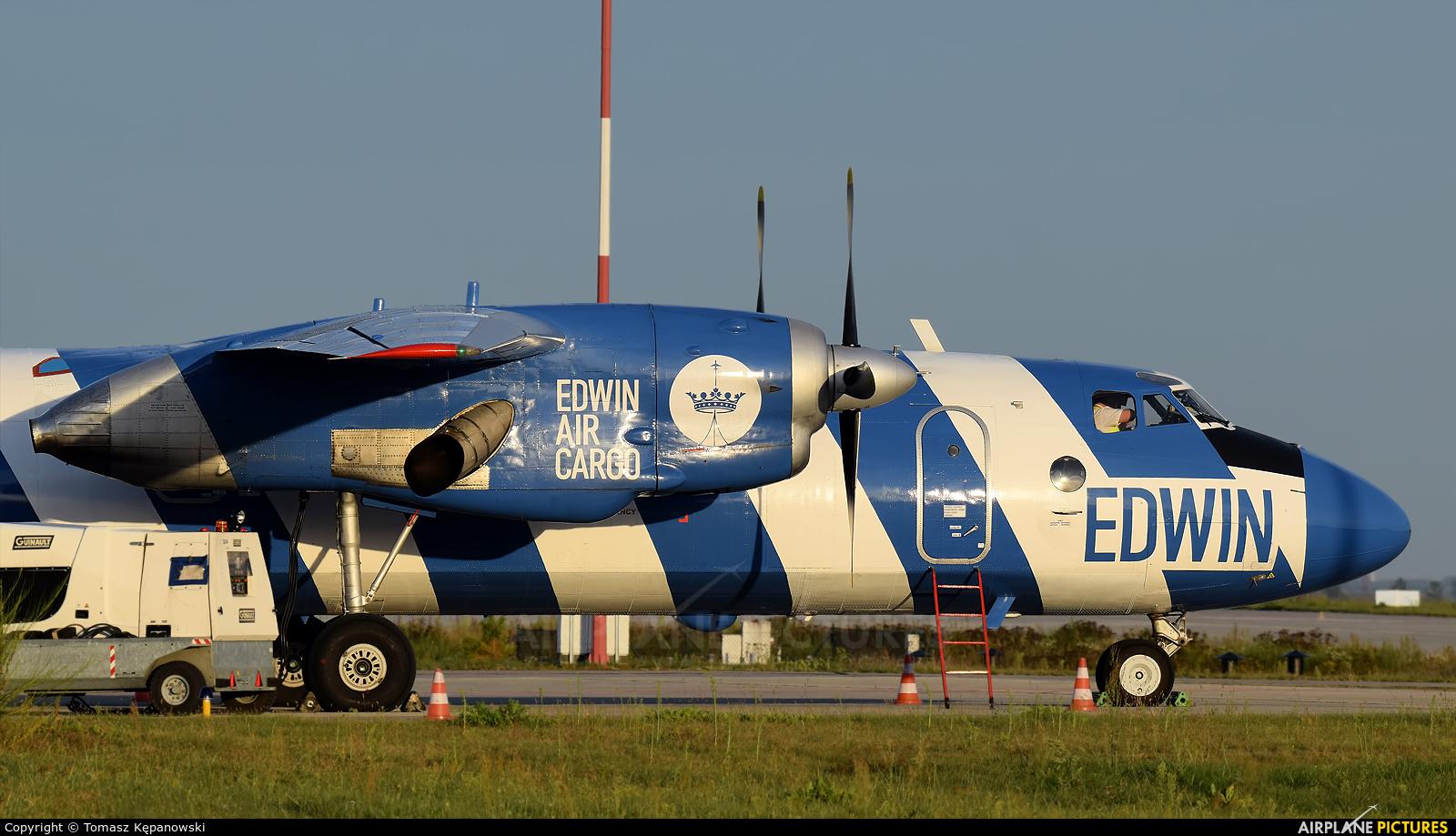 Bright Flight LZ-FLL aircraft at Rzeszów-Jasionka