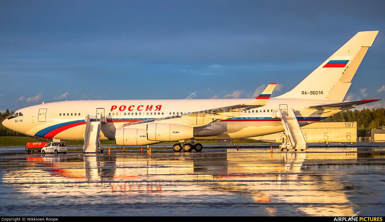 Rossiya Special Flight Detachment RA-96014 aircraft at Helsinki - Vantaa