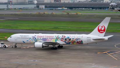 JA612J - JAL - Japan Airlines Boeing 767-300