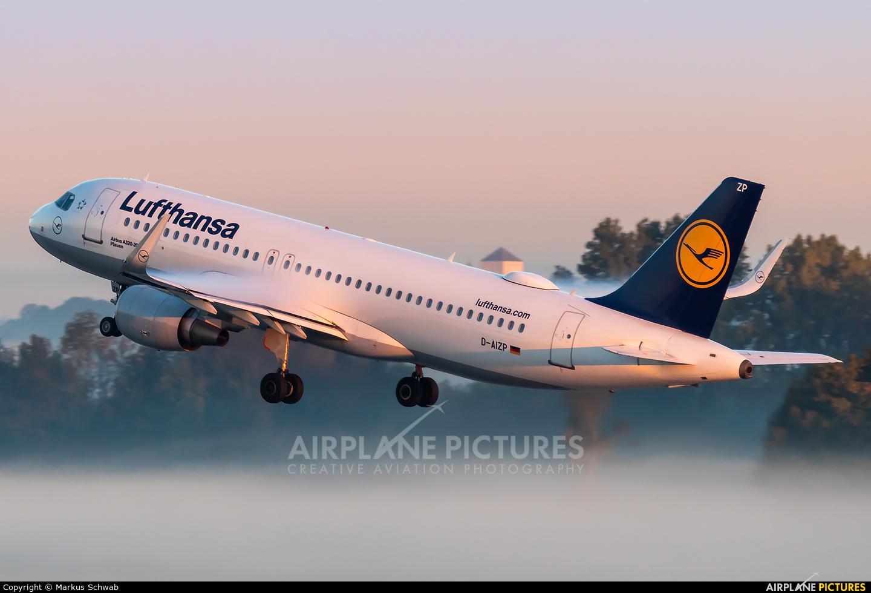 Lufthansa D-AIZP aircraft at Munich
