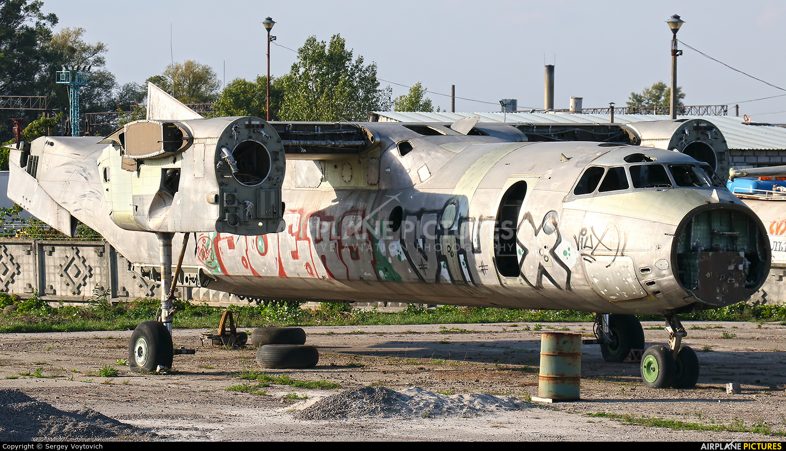 Unknown UNKNOWN aircraft at Off Airport - Ukraine