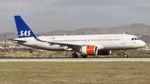 LN-RGL - SAS - Scandinavian Airlines Airbus A320 NEO aircraft