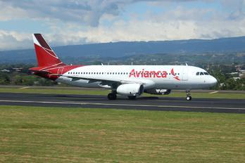 N684TA - Avianca Airbus A320